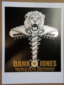 DANKO JONES - 2011 - POSTER - RON DONOVAN - SAN FRANCISCO - FIREHOUSE