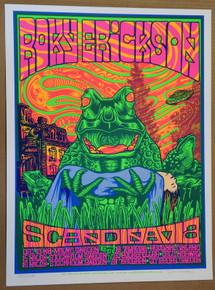 ROXY ERICKSON - 2007 - JOHN HOWARD - POSTER - SCANDINAVIA TOUR