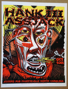 HANK WILLIAMS III- ASSJACK -2006 - JOHN HOWARD - POSTER - JESTER'S - FAYETTEVILLE