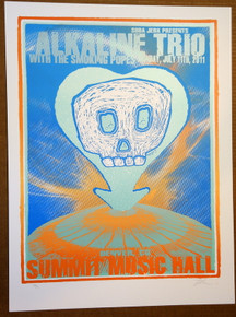 ALKALINE TRIO - SMOKING POPES - 2011 - LINDSEY KUHN - POSTER - DENVER