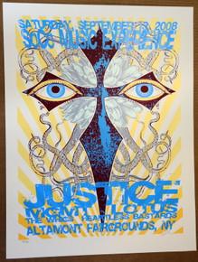JUSTICE - MGMT - 2008 - ALTAMONT NEW YORK - LINDSEY KUHN - POSTER - DENVER