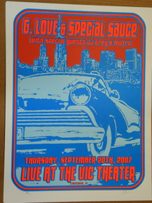 G. LOVE SPECIAL SAUCE - 2007 - JJ GREY - MOFRO - CHICAGO - LINDSEY KUHN - POSTER