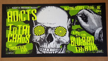 ADDICTS - TOTAL CHAOS - 2004 - BLUEBIRD - DENVER - LINDSEY KUHN - POSTER -