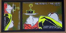 THE BRIEFS - THE GEDS - 2004 - BLUEBIRD - DENVER - LINDSEY KUHN - POSTER -