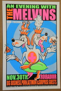 THE MELVINS - 2006 - THE TROUBADOUR - POSTER - BIG BUSINESS
