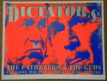 THE DICTATORS - 2002 - BLUEBIRD - DENVER - LINDSEY KUHN - POSTER -  THE GEDS