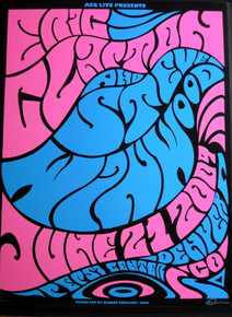 ERIC CLAPTON - STEVE WINWOOD - 2009 - POSTER - PEPSI CENTER - DENVER - DARREN GREALISH