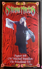 STEVIE NICKS - FLEETWOOD MAC - 2001 - C.W. MITCHELL - MACRAE -  POSTER