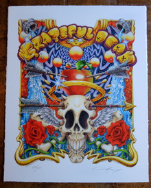 GRATEFUL DEAD - ART PRINT - ST. STEPHEN - AJ MASTHAY - POSTER - DEAD AND COMPANY