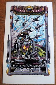 UMPHREY'S MCGEE - STONY PONY - ASBURY PARK -SUMMER TOUR 2014 - AJ MASTHAY - POSTER