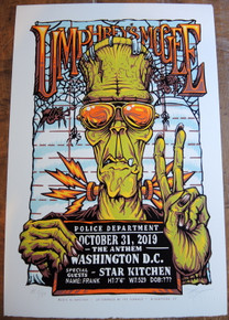 UMPHREY'S MCGEE - 2019 - THE ANTHEM - WASHINGTON - AJ MASTHAY - POSTER