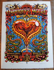 UMPHREY'S MCGEE - 2019 -BE MINE -  BROOKLYN STEEL  - AJ MASTHAY - POSTER