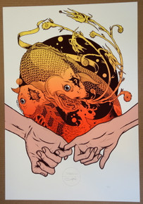 ART PRINT - QUEENS OF THE STONE AGE - 2014 - JERMAINE ROGERS - GALEN MCKAMY - POSTER