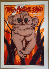 TREY ANASTASIO BAND - 2020 - HOUSE OF BLUES - HOUSTON- JERMAINE ROGERS - PHISH -  POSTER