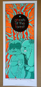 GHOST OF THE FOREST - 2019 - THE ANTHEM - WASHINGTON DC- JERMAINE ROGERS - PHISH - TREY - POSTER