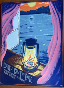 DEATH CAB FOR CUTIE   - 2019 - MASONIC TEMPLE - DETROIT - DAVE KLOC - POSTER