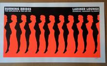 BURNING BRIDES - LARIMER LOUNGE - DENVER - 2004 - LINDSEY KUHN -POSTER