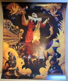 ROLLING STONES - PEARL JAM - BGP180 - RANDY CHAVEZ - OAKLAND STADIUM - POSTER