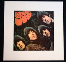 THE BEATLES - RUBBER SOUL - ART PRINT - APPLE LICENSED PRODUCT - 2005