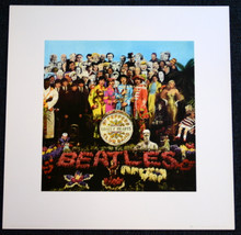 THE BEATLES - SGT PEPPER - ART PRINT - APPLE LICENSED PRODUCT - 2005