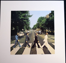 THE BEATLES - ABBEY ROAD - ART PRINT - APPLE LICENSED PRODUCT - 2005