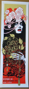QUEENS OF THE STONE AGE - 2018 - JOSH HOMME - POSTER - ADELAIDE - AUSTRALIA