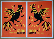 GOGOL BORDELLO - OCT 27/28 2010 - UNCUT SHEET #32/62 - BOULDER - DAN STILES - POSTER