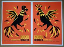 GOGOL BORDELLO - OCT 27/28 2010 - UNCUT SHEET #32/62 - BOULDER - DAN STILES - POSTER