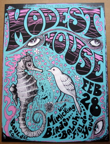 MODEST MOUSE - 2009 - BALCH FIELD HOUSE - BOULDER - POSTER - DARREN GREALISH