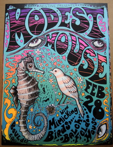 MODEST MOUSE - 2009 - COLOR VARIANT - BALCH FIELD HOUSE - BOULDER - POSTER - DARREN GREALISH