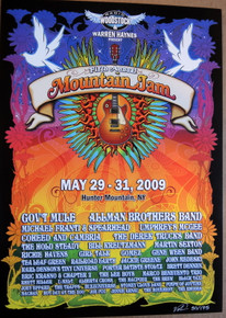MOUNTAIN JAM 2009 - GOV'T MULE - ALLMAN BROTHERS - UMPHREY'S MCGEE - POSTER