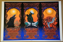 FURTHUR - EUGENE OREGON - 2011 - RICHARD BIFFLE - UNCUT PRINTERS PROOF - RARE - POSTER