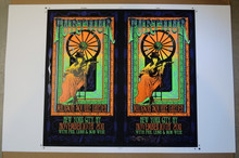FURTHUR - MADISON SQ GARDEN - NEW YORK - 2011 - RICHARD BIFFLE - UNCUT PRINTERS PROOF - RARE - POSTER