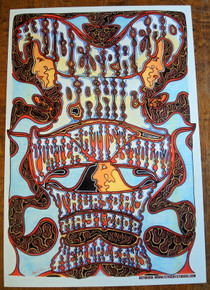 WIDESPREAD PANIC - PORTER BAPTISTE STOLTZ - 2008 - NEW ORLEANS - POSTER - JAY MICHAEL -