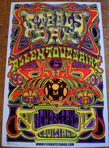 STEELEY DAN - ALLEN TOUSSAINT - 2007- NEW ORLEANS - POSTER - JAY MICHAEL - INNERVISION