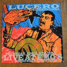 LUCERO - SHOOTER JENNINGS - EMO'S AUSTIN  - 2010 - LINDSEY KUHN - POSTER
