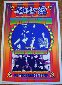 WHISKEY-A -GO-GO - CANNED HEAT - 35TH ANNIVERSARY - 1999 - DENNIS LOREN - COMMENORATIVE POSTER