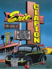 ERIC CLAPTON - 2007 TOUR - POSTER - CHUCK SPERRY - RON DONOVAN - VARIOUS VENUES