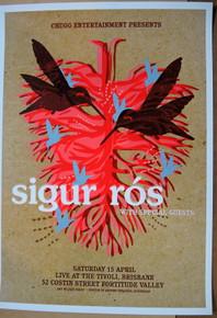 SIGUR ROS - 2006 - THE TIVOLI - BRISBANE - POSTER - JAZZ FELDY