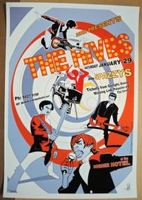 THE HIVES - 2005 - CORNER HOTEL - MELBOURNE - POSTER - CRAIG PHILLIPS