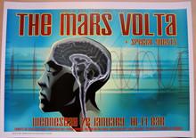 THE MARS VOLTA - 2004 - HI-FI BAR - MELBOURNE - POSTER - JOE WHYTE