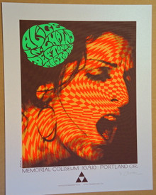 ALICE IN CHAINS - MASTODON - THE DEFTONES -  ARTIST PROOF - OPAL - POSTER - PORTLAND - JERMAINE ROGERS - EMBELLISHED