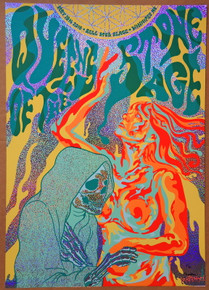 QUEENS OF THE STONE AGE - 2018 - BELL MTS - WINNIPEG - #9/30 SPARKLE FOIL - JERMAINE ROGERS - POSTER