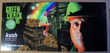 GREEN CRACK OG - KUSH MAGAZINE - DAILY BUDS POSTER - BUD OF THE MONTH -2010 - KUSHCON