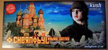 CHERNOBYL SATIVA - KUSH MAGAZINE - DAILY BUDS POSTER - BUD OF THE MONTH -2010 - KUSHCON