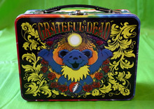 "GRATEFUL DEAD- TIN TOTE - ""DANCING BEARS"" - NEW - GARCIA - LESH - WEIR"