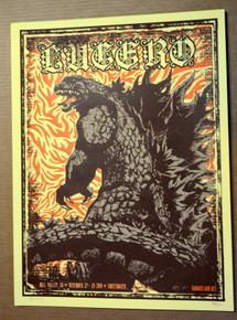 LUCERO - 2019 - SWEETWATER - MILL VALLEY - X-RAY -SILK SCREEN POSTER