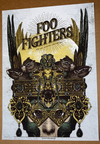 FOO FIGHTERS - 2017 - MAD COOL FESTIVAL - MADRID - SPAIN - ERROR-DESIGN - POSTER