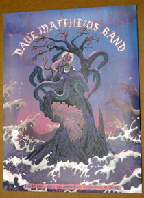 DAVE MATTHEWS BAND - 2018 - WEST PALM BEACH - CORSL SKY - NEAL WILLIAMS - POSTER - ARTIST PROOF