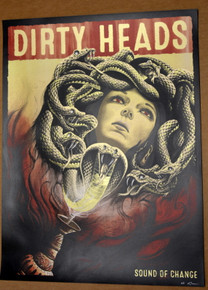 DIRTY HEADS - 2020 - SOUND OF CHANGE - NEAL WILLIAMS - POSTER - ARTIST PROOF